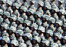 陆军步兵方队
