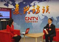 专访全国政协常委、上海世博会执委会副主任周汉民<br><br>