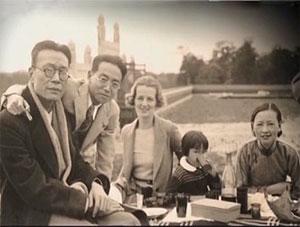 林徽因梁思成夫妇家里几乎每周都有沙龙聚会金岳霖始终是梁家沙龙座图片