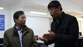 北京市石景山区鲁谷社区党工委书记 崔章程