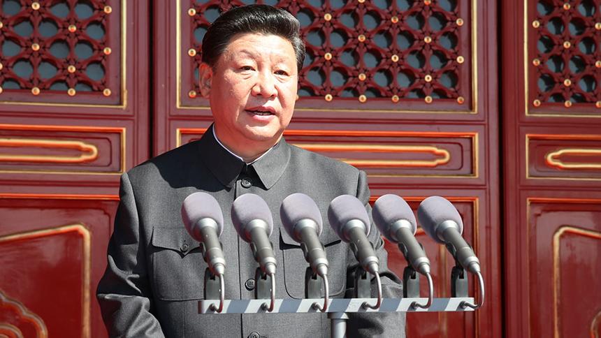 <font style=line-height:2em;color:#555>中共中央总书记、国家主席、中央军委主席习近平在大会上发表重要讲话。</font>