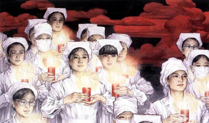 国际护士节:<br>用美术作品向护士致敬