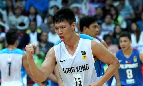 [高清组图]菲律宾胜中国香港 小组第一晋级8强