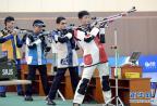 [高清组图]亚青会-王岳丰夺得男子10米气步枪金牌