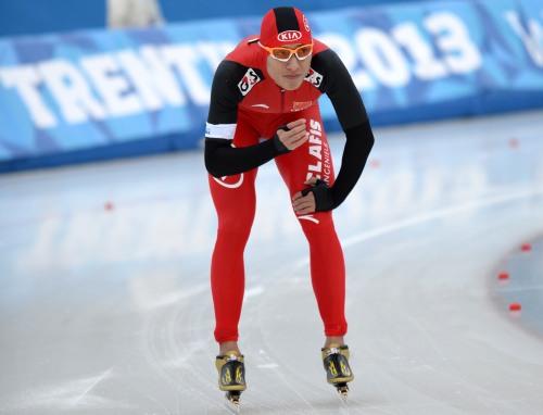 [高清组图]大冬会-牟钟声获男子500米第四名