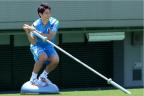 [高清组图]香川真司领衔日本队训练备战世界杯