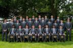 """[高清组图]英格兰队出征世界杯 """"全家福""""出炉"""