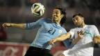 [高清组图]热身-弗兰助攻卡瓦尼破门 乌拉圭2-0