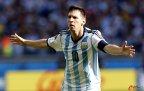 [高清组图]梅西补时世界波 阿根廷1-0险胜伊朗