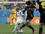 [高清组图]惨遭绝杀 韩国0-1十人比利时被淘汰