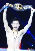 [高清组图]吕斌赢金腰带 锁定里约奥运会拳击席位