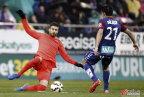 [高清组图]梅西2球超C罗 巴萨2-0胜埃瓦尔