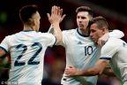 [高清組圖]梅西復出策動進球 阿根廷1-3委內瑞拉