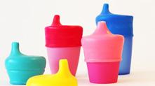 SipSnap 防儿童洒水杯盖