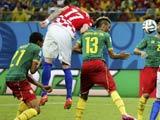 [世界杯]克罗地亚角球找后点 曼祖基奇头球破门