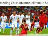 [世界杯]西班牙遭淘汰 各国媒体感叹时代终结