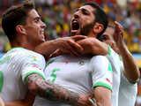 [世界杯]阿尔及利角球开中路 哈利切头球破门
