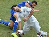 [世界杯]D组:意大利0-1乌拉圭 比赛集锦