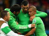 [世界杯]阿尔及利亚边路传中 加布铲射破门