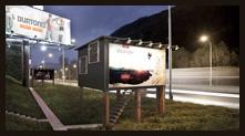 令人意外的路边广告牌小屋