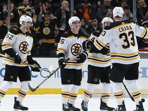 [NHL]常规赛:波士顿棕熊3-0阿纳海姆小鸭 全场集锦