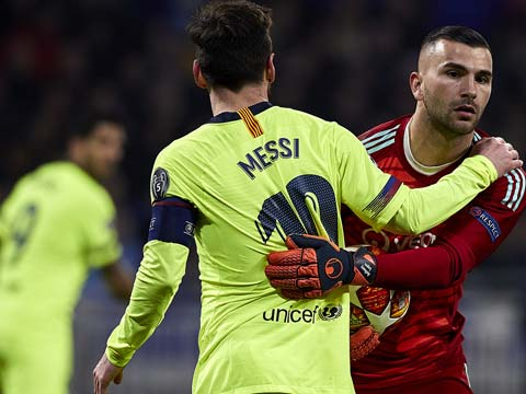[歐冠]1/8決賽首回合:里昂VS巴塞羅那 完整賽事