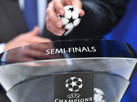 [歐冠]歐冠八強對陣出爐 強強精彩對話