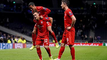 [圖]歐冠-格納布里四球萊萬雙響 拜仁7-2狂勝熱刺