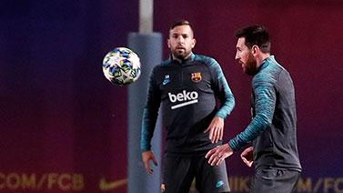 [圖]歐冠小組賽H組前瞻:巴塞羅那訓練備戰