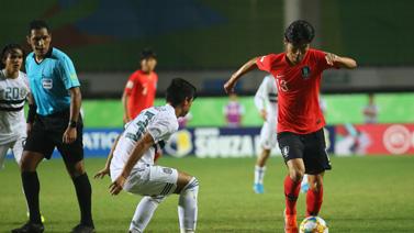 [圖]U17世界杯1/4決賽 韓國0-1墨西哥止步八強