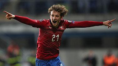 [圖]捷克2-1戰勝科索沃 鎖定歐洲杯正賽資格