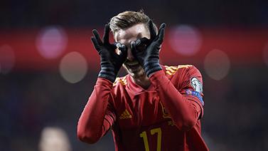 [圖]歐預賽-卡索拉助攻莫雷諾雙響 西班牙5-0大勝