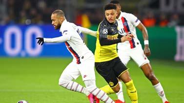 [歐冠]1/8決賽:多特蒙德2-1大巴黎 比賽集錦
