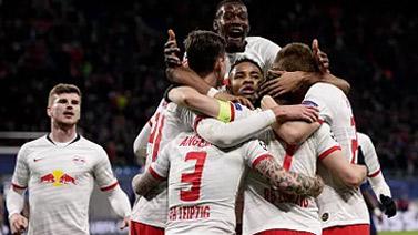 [天下足球]完勝熱刺 萊比錫晉級歐冠八強