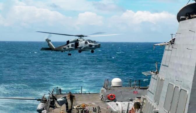 《今日关注》 20200819 美舰穿航台湾海峡 东部战区:全程跟踪监视