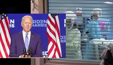 《今日关注》 20201109 拜登公布疫情应对 特朗普启动诉讼 美大选会否再反转?