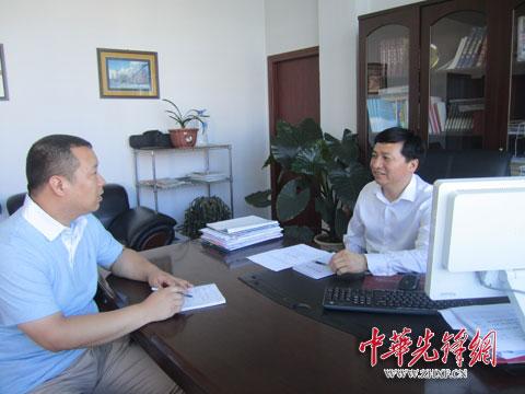 盘锦市兴隆台区:组织部长与街道一把手谈心话换届