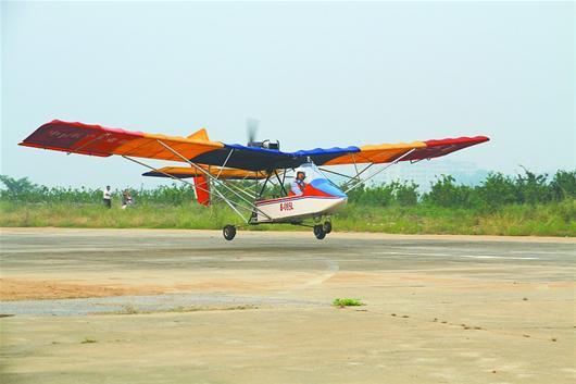 这型飞机在a2c超轻型水上飞机的基础上改进设计