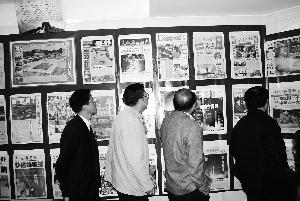 博物馆一角。本报记者 王兰芳 摄