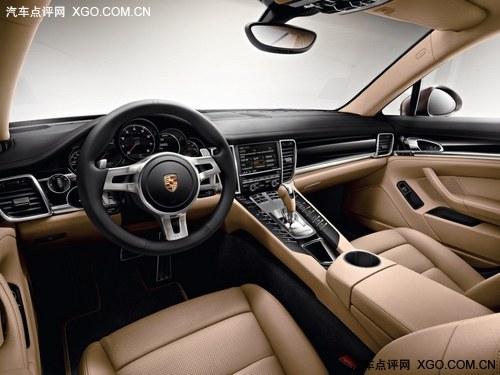 外观亮丽 Panamera白金版广州车展首发