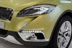 2012巴黎车展 铃木S-Cross概念车发布