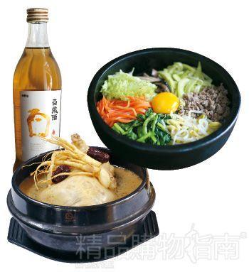 其中最为出名的是,一天只卖4碗的人参鸡汤,以及老板娘家传好味的石锅拌饭。