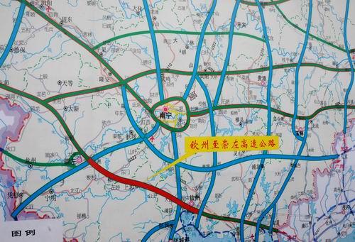 钦州至崇左高速公路通车 具东盟文化特色的风情路
