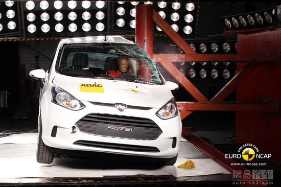 欧洲NCAP碰撞试验-福特B-Max侧柱碰撞-福特翼虎 全新胜达领衔 欧洲高清图片