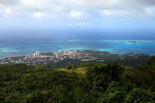 """被称为""""世界最高峰""""的塞班岛最高点塔波乔"""