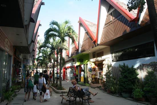 图文-长滩岛特色与风土人情购物大街