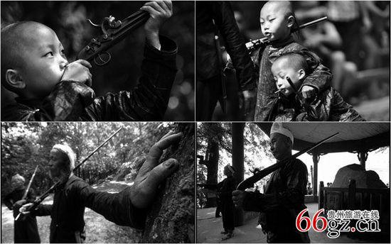 贵州岜沙苗寨 探访最后的枪手部落