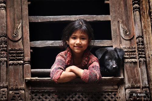 新浪旅游配图:触摸幸福 最美的微笑 摄影:胡若冰