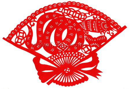 可爱的蛇剪纸 蛇年剪纸图片大全图片