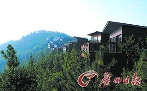 莫干山上有了几家各具特色的奢华度假村。